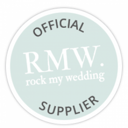 Rock My Wedding Blog Official Supplier Badge