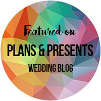 Plans & Presents Wedding Blog Badge