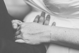 City Hall Wedding Photography - Close up of newly married couple's hands
