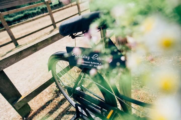 Vintage Wedding Bike Cardiff South Wales
