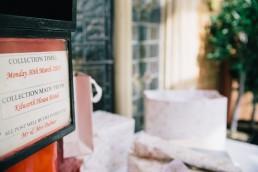 Wedding Photographer Cardiff - Wedding Post Box