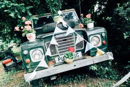 Vintage Landrover - Wedding - Photography - Cardiff