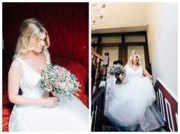 Bride getting ready at Llanerch Vineyard