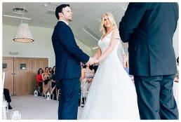 Wedding Ceremony at Llanerch Vineyard