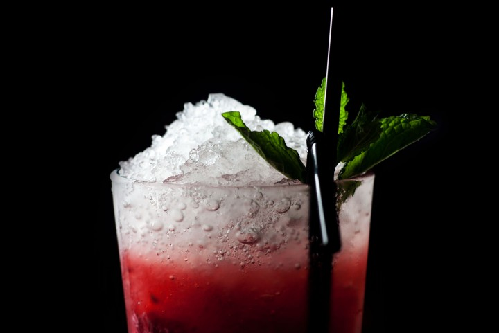Corporate Photography - Close up of a cocktail