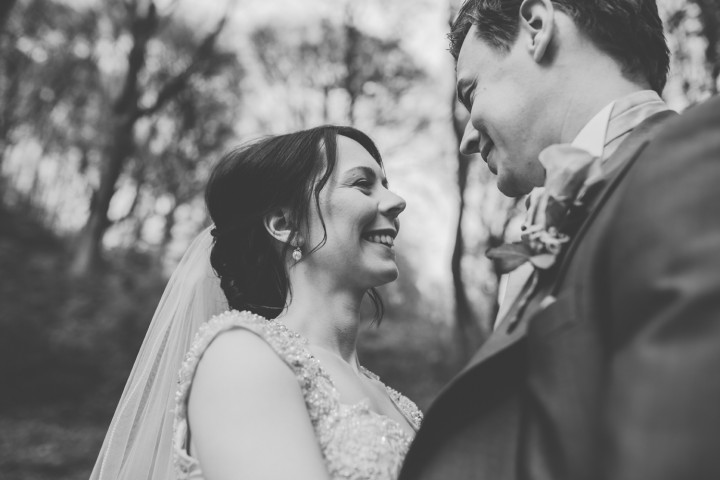Wedding Photography At Castell Coch - Bride & Groom In The Woods