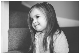Beautiful Little Girl Photographed At Home In Cardiff