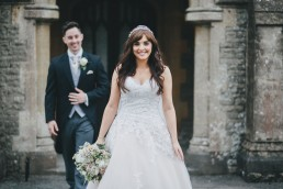 Beautiful bride at Tortworth Court
