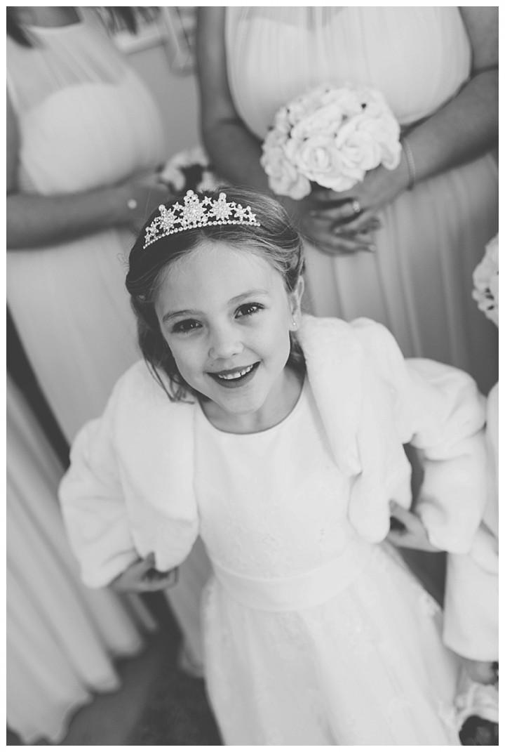 Wedding Photographer Cardiff - Bridesmaid smiling