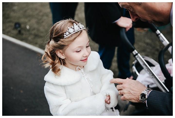 Wedding Photographer Cardiff - Pretty Flower Girl