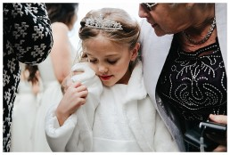 Wedding Photographer Cardiff - Beautiful flower girl