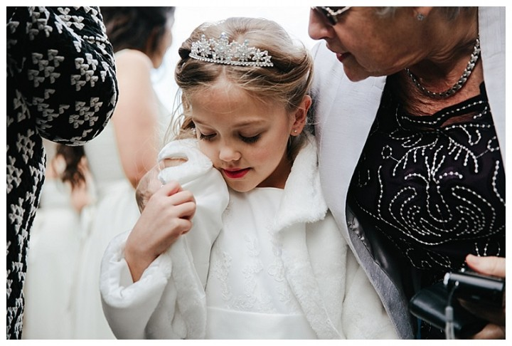 Wedding Photographer Cardiff - Beautiful flower girl
