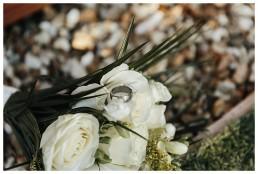 Wedding Photographer Cardiff - Rings Close Up