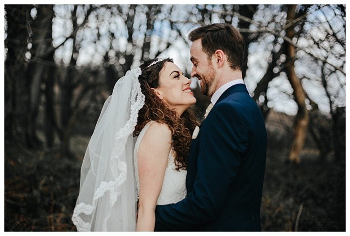 South Wales Wedding Photographer Captures beautiful new married couple
