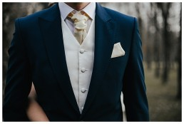 close up of grooms suit during Cardiff wedding photography