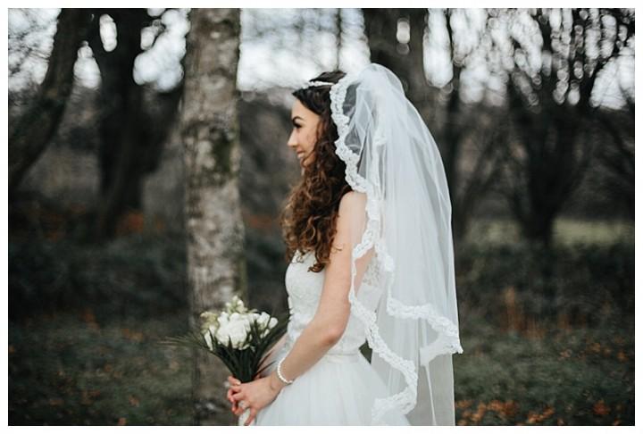Wedding Photographer Cardiff captures bride off guard