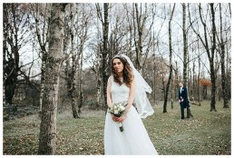 stunning bride stares into the future at Cardiff wedding