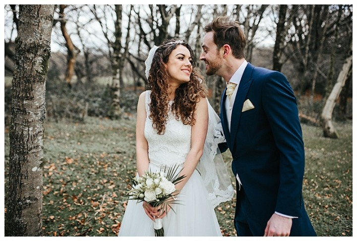Wedding Photographer Cardiff captures the moment between bride and groom