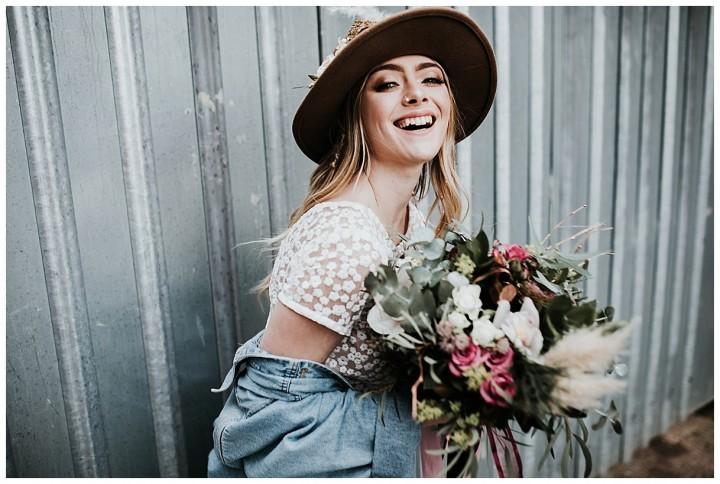 Bridal Photo Shoot at Paintworks