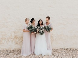 Gilestone Manor Wedding Photography - bridesmaids