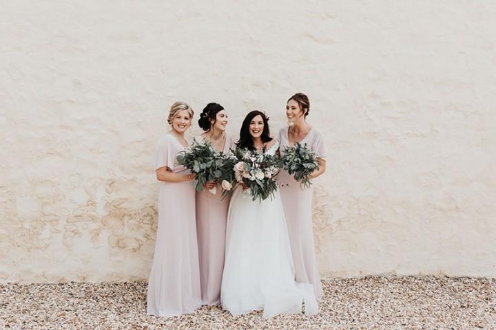 Gilestone Manor Wedding Photography - bridesmaids