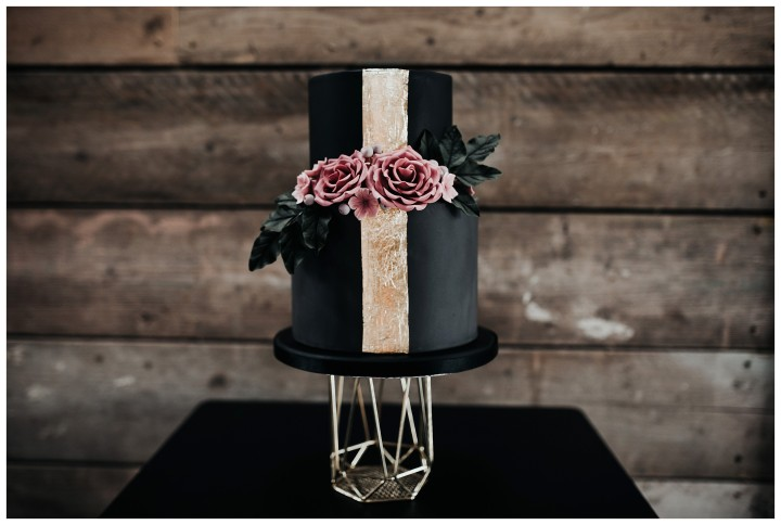 Wedding Cake at Shack Revolution