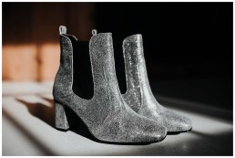 sparkly alternative wedding boots for alternative wedding at fforest