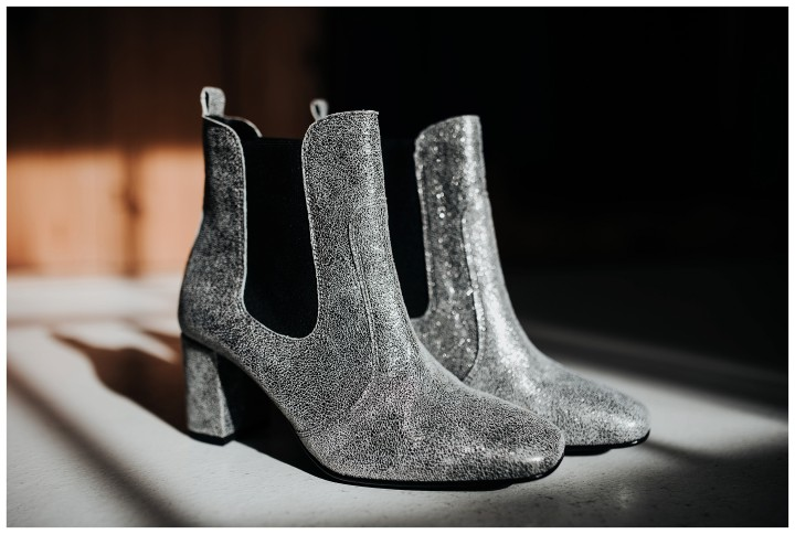 sparkly alternative wedding boots for alternative wedding at fforest
