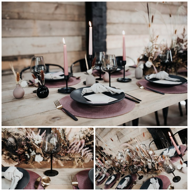 table settings at shack revolution